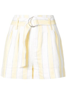 Frame Denim striped shorts - Yellow & Orange