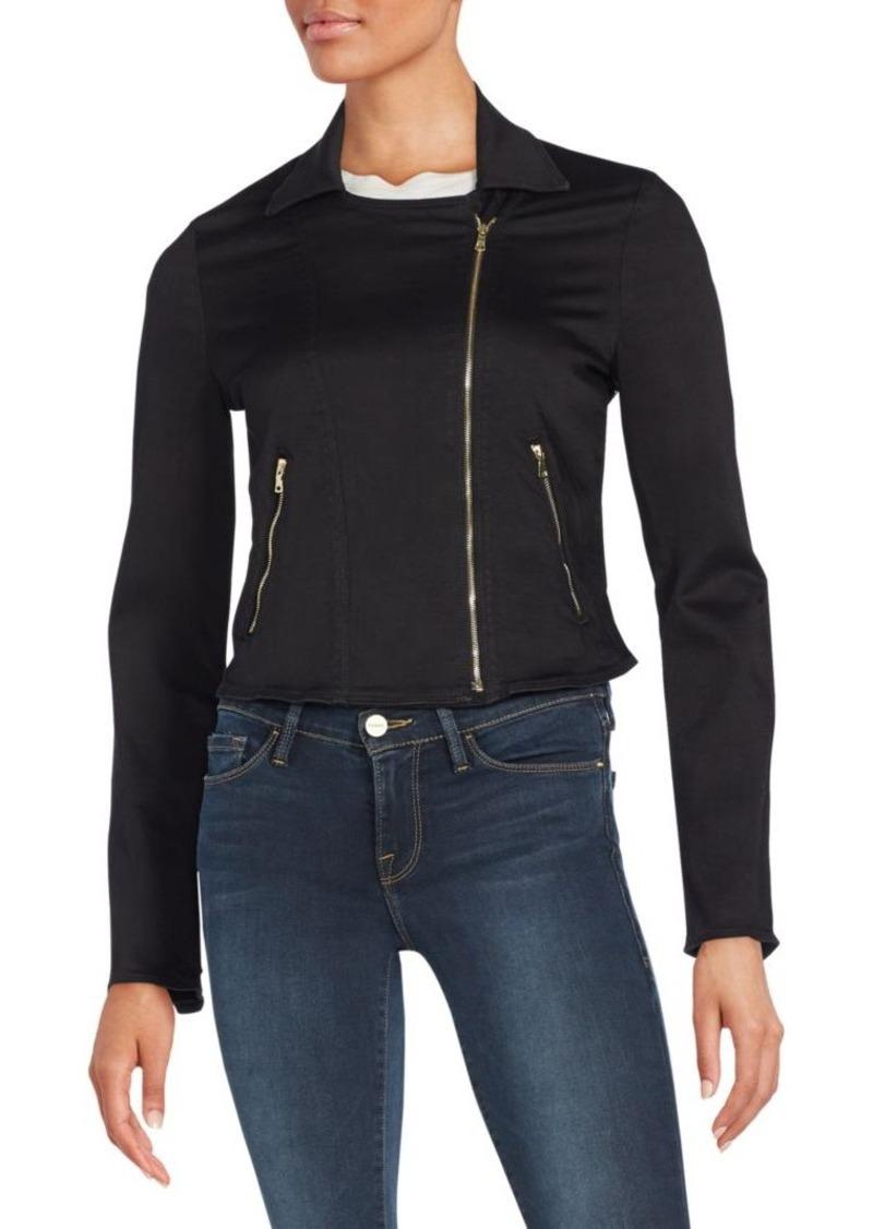 FRAME DENIM Zip-Detailed Jacket