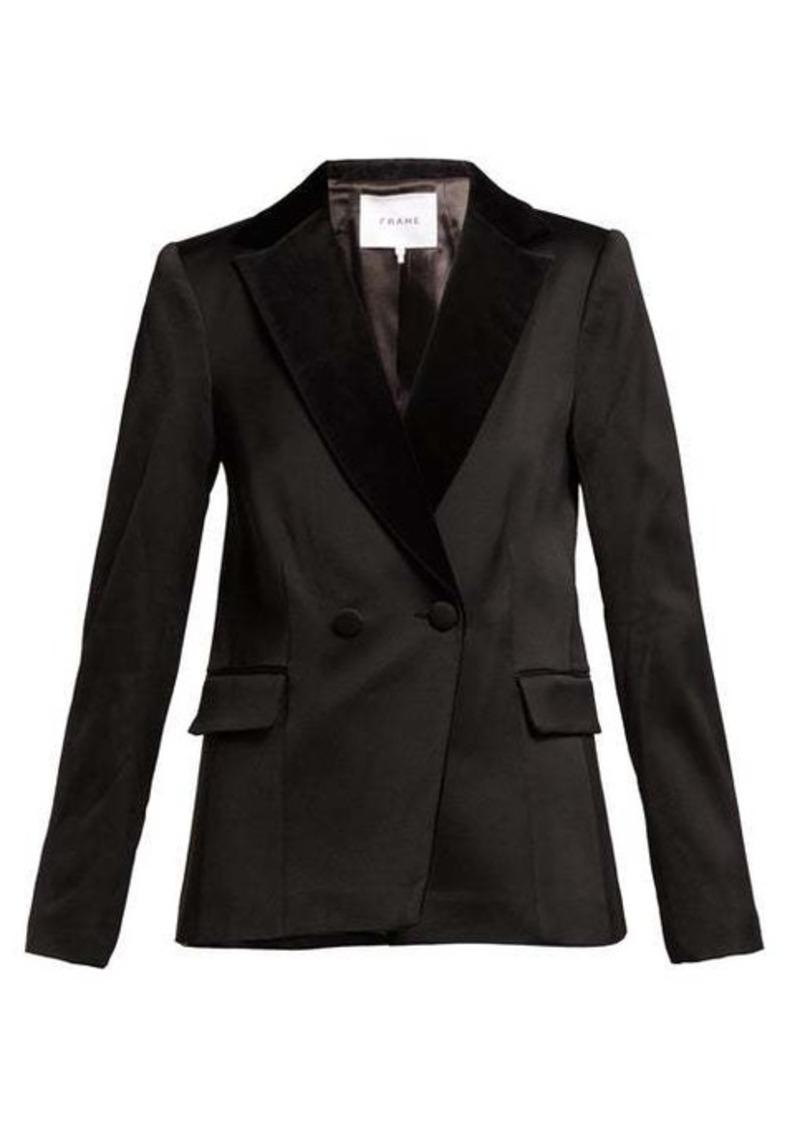 Frame Double-breasted tuxedo jacket