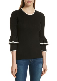 FRAME Double Ruffle Cuff Sweater (Nordstrom Exclusive)