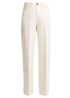 Frame Easy high-rise wide-leg jeans