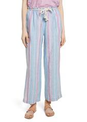 FRAME Easy Stripe Linen Pants