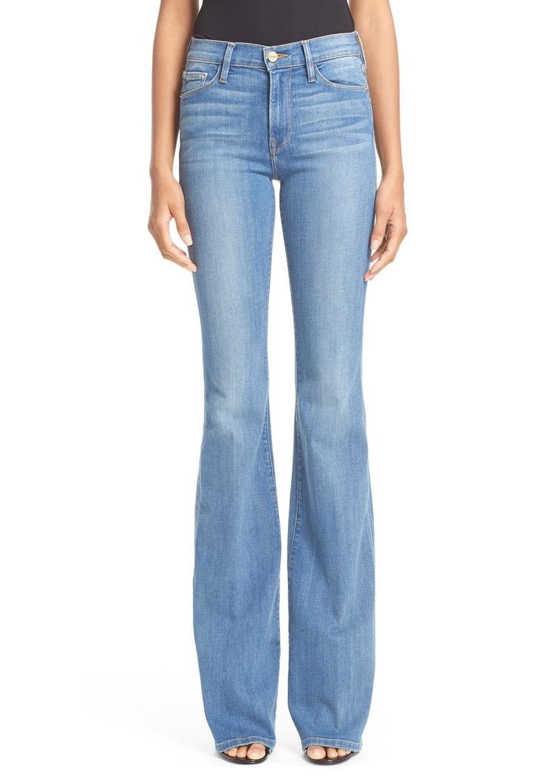FRAME Forever Karlie Flare Jeans (Linden)