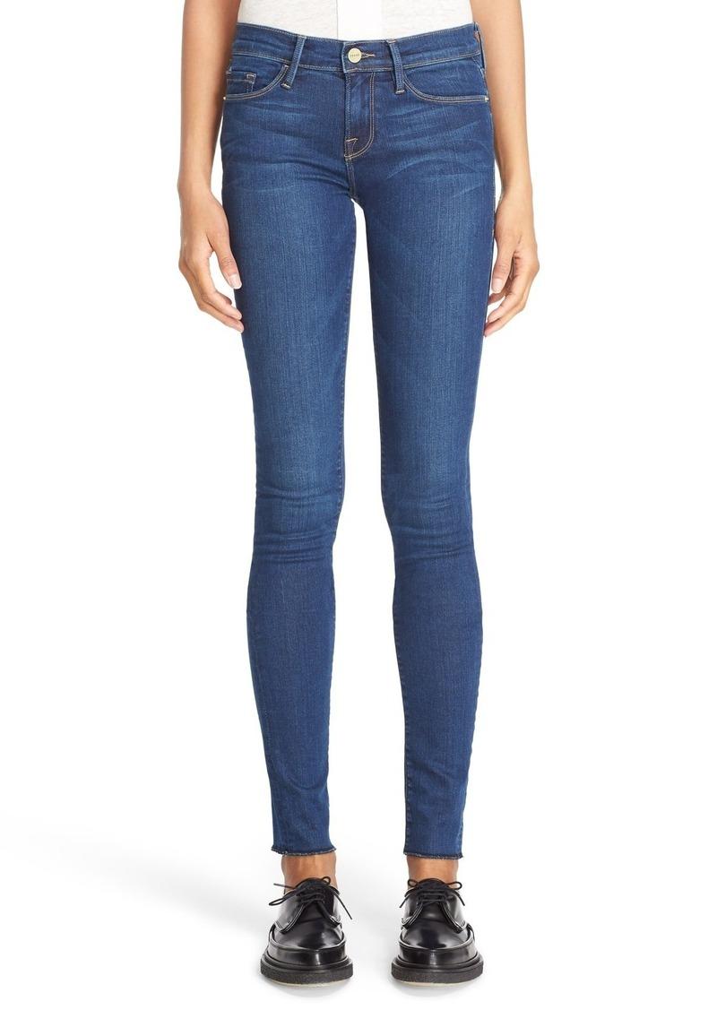 FRAME FRAME Forever Karlie Skinny Jeans (Columbia Road) (Long) | Denim