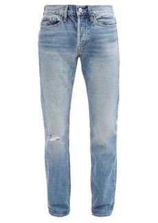 Frame Heritage distressed slim-leg jeans