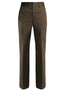 Frame High-pocket flared trousers