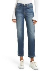 FRAME High Waist Released Hem Crop Jeans (Granby)