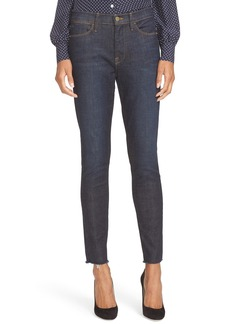FRAME High Waist Skinny Jeans (Saltair) (Nordstrom Exclusive)