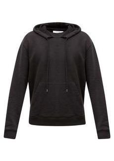 Frame Hooded loopback cotton-jersey sweatshirt