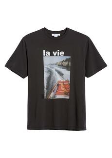 FRAME La Vie Photo Graphic Tee