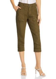 FRAME Le Beau Cropped Utility Pants