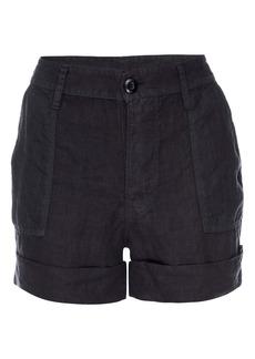 FRAME Le Beau Linen Shorts