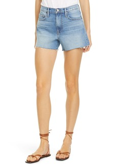 FRAME Le Brigette Cutoff Denim Shorts (Alamitos)