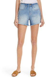 FRAME Le Brigette Denim Shorts (Sand Dollar)