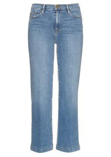 Frame Le Capri Crop cropped jeans