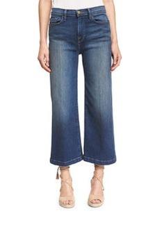 FRAME Le Capri Crop Wide-Leg Jeans