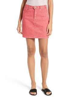 FRAME Le Color Denim Pencil Skirt