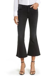 FRAME Le Crop Bell High Waist Crop Jeans (Whittier)