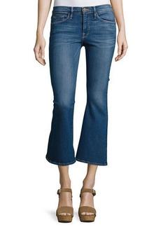 FRAME Le Crop Bell Kick-Flare Jeans