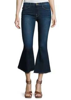 FRAME Le Crop Bell Kick-Flare Jeans