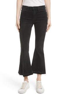 Frame Le Crop Bell Released Hem Jeans (Regular & Petite) (Garvey)