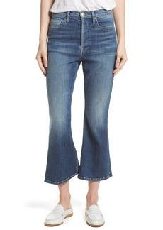 FRAME Le Crop Flare High Waist Jeans (Sunrise Park) (Nordstrom Exclusive)