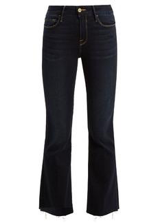 Frame Le Crop flared jeans