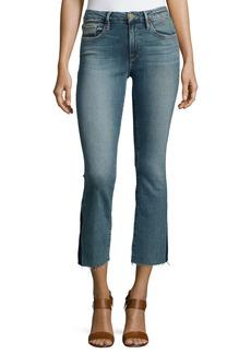 FRAME Le Crop Mini Boot-Cut Gusset Jeans