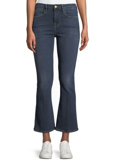 FRAME Le Crop Mini Boot-Cut Jeans  Spring Street