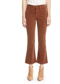 FRAME Le Crop Mini Boot High Waist Corduroy Pants