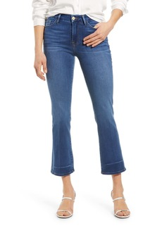 FRAME Le Crop Mini Boot High Waist Jeans