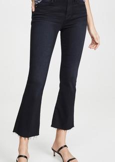 FRAME Le Crop Mini Boot Raw Edge Jeans