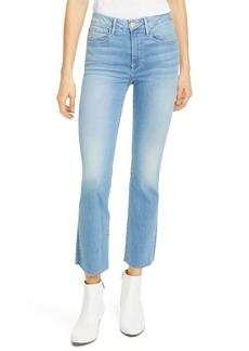 FRAME Le Crop Mini Bootcut High Waist Jeans