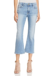 FRAME Le Crop Mini Bootcut Jeans in Tremont