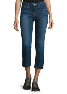 FRAME Le Cropped Mini Boot-Cut Jeans