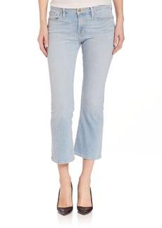 FRAME Le Cropped Mini Bootcut Jeans