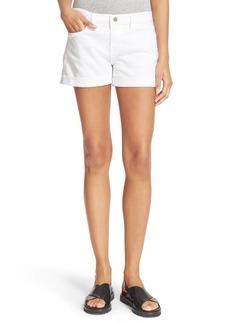 FRAME Le Cutoff Cuffed Jean Shorts (Blanc) (Nordstrom Exclusive)