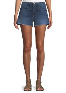 FRAME Le Cutoff Denim Shorts