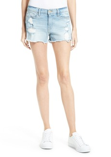 FRAME Le Cutoff Denim Shorts (Taffs)