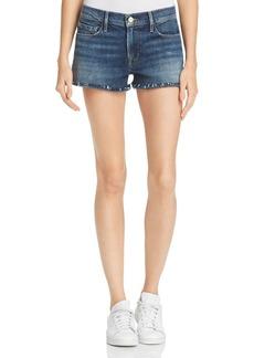 FRAME Le Cutoff Denim Shorts in Alden