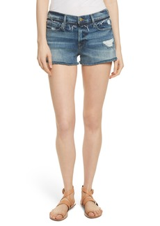 FRAME Le Cutoff Denim Shorts (Rookley)