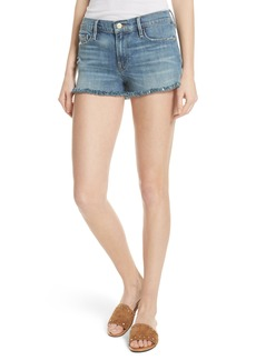 FRAME Le Cutoff Denim Shorts (Wooton)