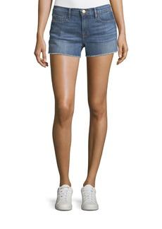 FRAME Le Cutoff Mid-Rise Denim Shorts