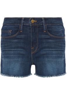 FRAME Le Cutoff stretch-denim shorts
