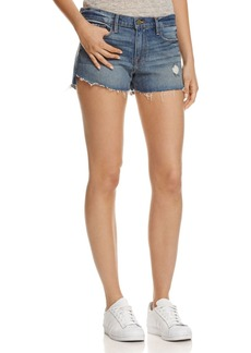FRAME Le Cutoff Tulip Shorts in Valle