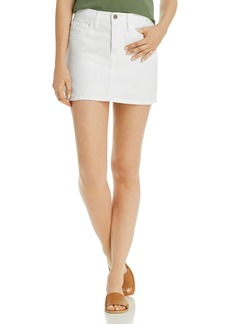 FRAME Le Denim Mini Skirt