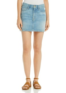 FRAME Le Denim Mini Skirt