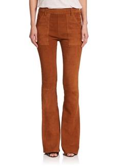 FRAME Le Flare De Francoise Suede Jeans