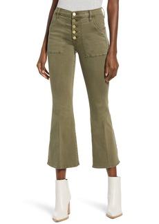 FRAME Le Francoise Crop Bootcut Jeans