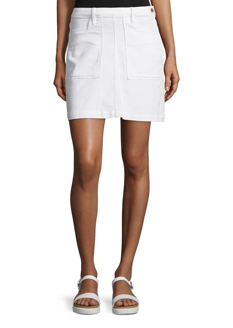 FRAME Le Francoise Denim Skirt